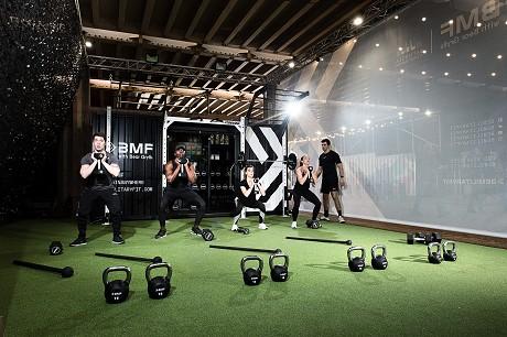 BMF indoor training