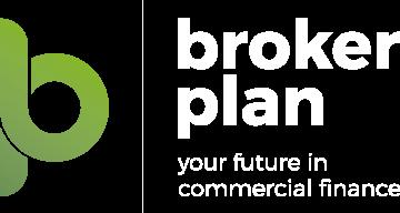 Brokerplan White logo