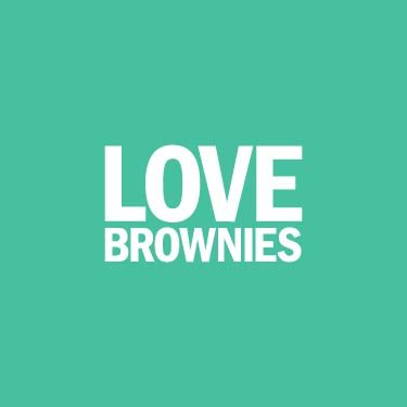 Love Brownies Logo (Turquoise)