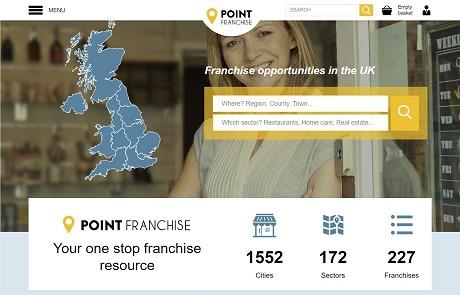 Point Franchise Web screenshot
