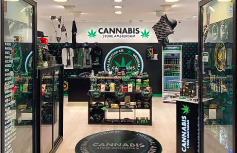 cannabis store amsterdam inside shop